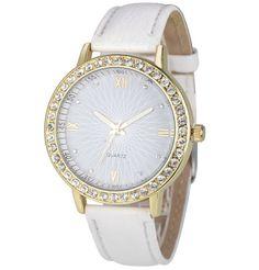 landfox luxury brand watches men montres gold watch for men women s crystal diamond watch