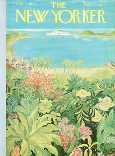 The New Yorker - Saturday, February 17, 1962 - Issue # 1931 - Vol. 37 - N° 53 - Cover by : Ilonka Karasz