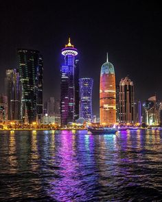"323 Likes, 7 Comments - Qatarism | قطر الجميلة (@qatarism) on Instagram: ""Good Night #Doha #Qatar ✨ @jassim_al_thani TAG Your Awesome Photos #Qatarism"""
