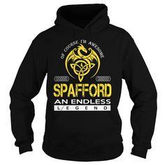 SPAFFORD An Endless Legend (Dragon) - Last Name, Surname T-Shirt