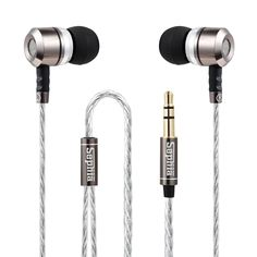 Noise ISOLATING IN-EAR EARPHONES HEADPHONES, Stereo Bass Sephia SP3060. NEW  #Sephia