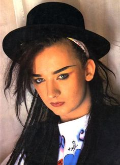 Boy George, my very first Makeup inspiration! Love :)