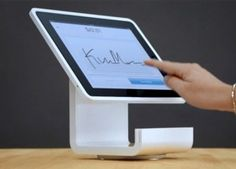Square Stand credit card terminal coming to Apple Stores next week - (Jul Square Pos, Coffee Shop Counter, Credit Card Terminal, Apple Mobile, Ipad, Store, Tech, Clothing, Baby Things