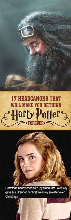 "17 ""Harry Potter"" Headcanons That Will Change How You Read The Books"