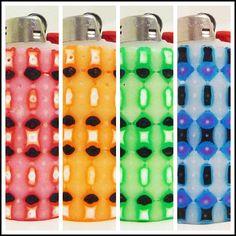 Glow in the Dark Perler Bead LIGHTER CASE by LighterCases on Etsy, $10.00