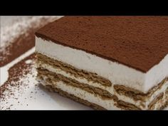 Italian Biscuits, Greek Cooking, Tiramisu, Food And Drink, Favorite Recipes, Sweets, Ethnic Recipes, Desserts, Youtube