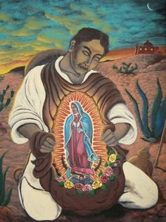 mary of guadalupe and juan diego | Honoring Guadalupe, Tonantzin, Coatlaxopeuh | Latino Life | a mySA.com ...