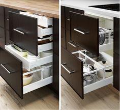 variera utrusta abfalltrennung f schrank things i want pinterest k che. Black Bedroom Furniture Sets. Home Design Ideas