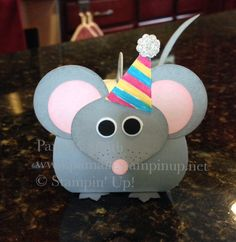 www.pamala.stampinup.net mouse, curvy keepsake box, birthday, Stampin' Up!