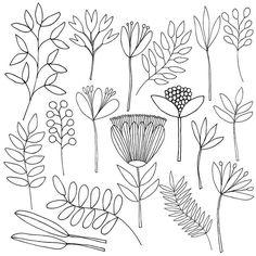 Sketchbook foliage #printandpattern #surfacedesign #jocelynproustdesigns #sketchbook #illustratorsoninstagram #leaves #foliage