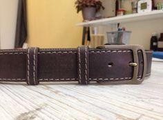 Купить Ремень кожаный мужской в интернет магазине на Ярмарке Мастеров
