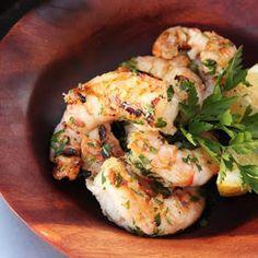 Grilled Shrimp With Garlic and Lemon Recipe | Yummly
