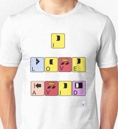 I Love Avid Unisex T-Shirt