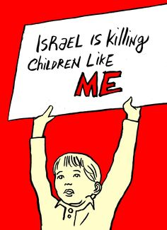 #Israel is killing children like ME #StopBombingGaza #StopOccupyPalestine #gaza http://www.politicalcomics.info/2014/07/12/stop-bombing-gaza/