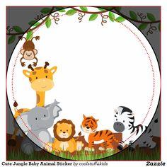 Jungle Theme Parties, Jungle Theme Birthday, Safari Theme Party, Jungle Party, Animal Birthday, Free Printable Invitations, Baby Invitations, Safari Cakes, Baby Scrapbook Pages