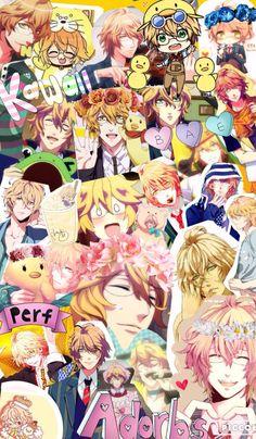 My collage of Shinomiya Natsuki!!