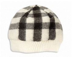 Cashmere Burberry baby hat
