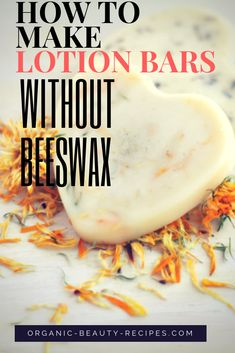 This homemade lotion bar is super silky and buttery. The texture is light, smooth and luxurious massage on the skin. I will teach you how to make lotion bars without beeswax. It's vegan and is also great for stretch marks. This DIY lotion bar recipe melts Pot Mason, Mason Jar Diy, Diy Lotion, Lotion Bars, Lotion En Barre, Belleza Diy, Soap Recipes, Belleza Natural, Beauty Recipe
