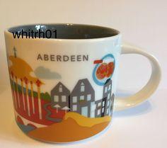 Starbucks Aberdeen Mug YAH Scotland Buttery Rig UK Coffee Cup You Are Here New #Starbucks