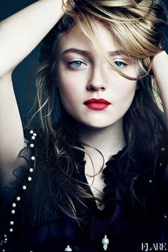 Dakota Fanning for FLARE magazine