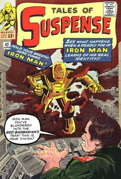 Tales of Suspense #42. Iron Man v the Red Barbarian.  #TalesOfSuspense #IronMan