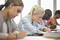 Taking the SAT Test - Getty Images | David Schaffer