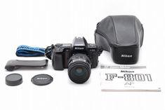 【NEAR MINT】Nikon AF F-801 SLR W/AF Nikkor 28-85mm F/3.5-4.5,Data Back,More 264 #Nikon