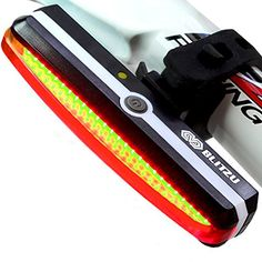 ULTRA BRIGHT Bike Light Blitzu Cyborg 168T USB Rechargeable Tail Light. RED High Intensity Rear LED Accessories Fits on any Bicycles, Helmets, Waterproof. Easy To install for Cycling Safety Flashlight - http://mountain-bike-review.net/products-recommended-accessories/ultra-bright-bike-light-blitzu-cyborg-168t-usb-rechargeable-tail-light-red-high-intensity-rear-led-accessories-fits-on-any-bicycles-helmets-waterproof-easy-to-install-for-cycling-safety-flashlight/ #mountainbike