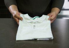 Cómo doblar camisas en menos de 5 segundos