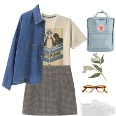 Untitled #29 by cornelia-poeschl on Polyvore featuring polyvore fashion style Marc Jacobs Jeffrey Campbell Fjällräven