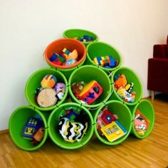 Toddler room Toy storage