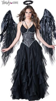 Fashion Feather Wings Angel Fairy Fancy Dress Costume Halloween Party FavorB TXH