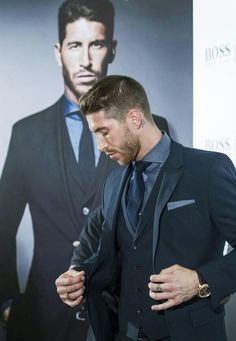 Sergio Ramos Fashion December 2017