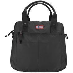 Napapijri Hel Handtasche Henkeltasche 33 cm    Napapijri Henkeltasche. Die Tasche hat Reißverschlussfächer und ein weiches Innenfutter, sowie einen abnehmbaren, verstellbaren Umhängeriemen.    Außenmaße (LxBxH): 33cm x 14cm x 30cm  Gewicht in kg: 0.48kg  Volumen in L ca.: 11-20  Material: Nylon  Extras: Tragegriff  Ausstattung: Tasche(n) außen, Tasche(n) innen, verstellbarer Umhängeriemen  Vers...