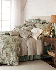 "bedding & linens  ""Mystique"" Bed Linens by French Laundry Home at Horchow."