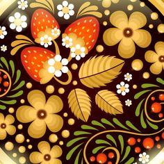 Create a Traditional Russian Khokhloma Ornament in Illustrator — Tuts