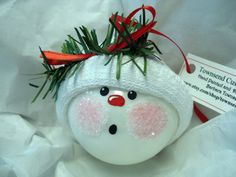 Make Your Own Ornament Christmas Tree Bulb by TownsendCustomGifts, $9.95