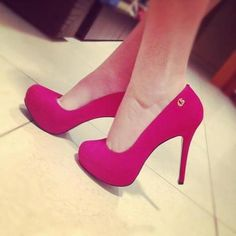 SHOES SHOES SHOES #PINK . I need these in my life !