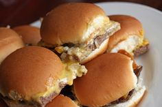 Our Version of White Castle Sliders - Favorite Family Recipes