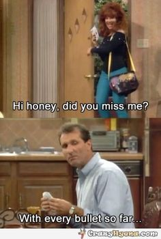 This show is the reason my marriage works so well. It taught us not to take things too seriously. <3