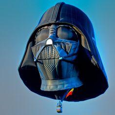 """Darth Vader Balloon"" by Marvin Bredel, via 500px."