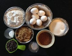 Brownie Ingredients http://www.styledtosparkle.com/food/friendship-brownies/