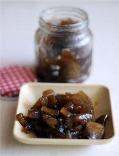 Balsamic apple jam