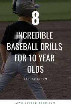 When a baseball player becomes 10 years of age, it's time to start developing his throwing and swinging mechanics. Before this, kids learned the value of teamwork, keeping a positive attitude, and becoming familiar with the rules of the game. Now, it's time for them to learn skills, and to that end, we have put together 8 baseball drills for 10 year olds, that are different than drills you would have younger players do. Baseball Tips, Baseball Pants, Baseball Cleats, Baseball Mom, Baseball Savings, Baseball Shirts, Rangers Baseball, Royals Baseball, Baseball Birthday