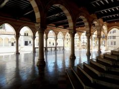 Loggia del Lionello - Udine, Italy - In the principal square (Piazza della Libertà) stands the town hall, built in 1448-1457 in the Venetian-Gothic style opposite a clock tower (Torre dell'Orologio) resembling that of the Piazza San Marco in Venice. It was begun in 1448 on a project by Nicolò Lionello, a local goldsmith, and was rebuilt following a fire in 1876. The new design was projected by the architect Andrea Scala.