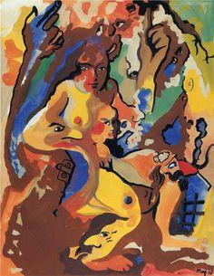 René Magritte - Titania, 1948