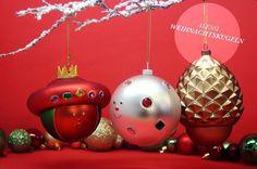 Niedlich, besonders und kreativ - das sind die Weihnachtskugeln von #alessi