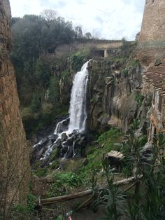 The waterfalls of Nepi