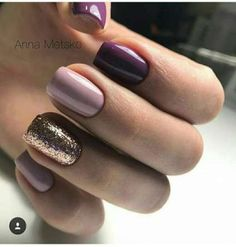 Nails Sencillas Moradas 37 Ideas Best Picture For nail blue gelish For Your Taste You are loo Classy Nails, Stylish Nails, Trendy Nails, Cute Nails, Nails Yellow, Pink Nails, Hair And Nails, My Nails, Dipped Nails