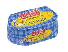Avec ses cristaux de sel des marais salants de Guérande, ce beurre Paysan Breton…